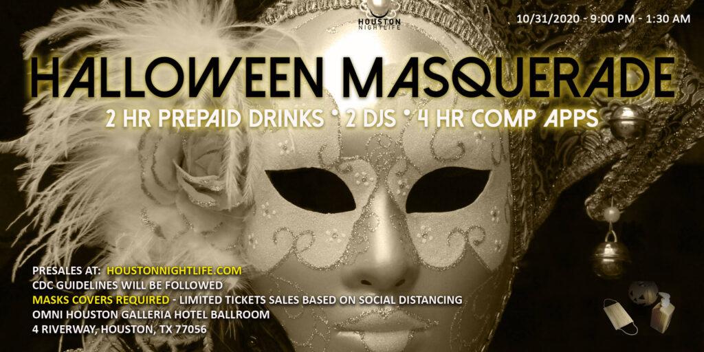 Haunted Omni Houston Hotel - Exclusive Halloween Masquerade Costume Ball